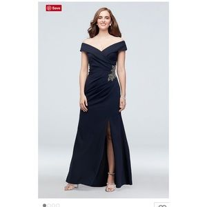 Blue Davids Bridal Long Dress